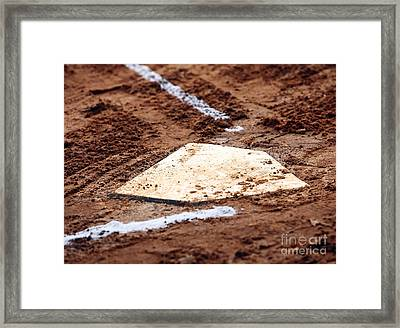 Home Is Where The Heart Is Framed Print by John Rizzuto
