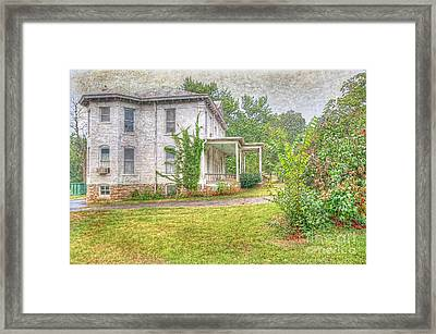 Home Is Where The Heart Is Framed Print by Liane Wright