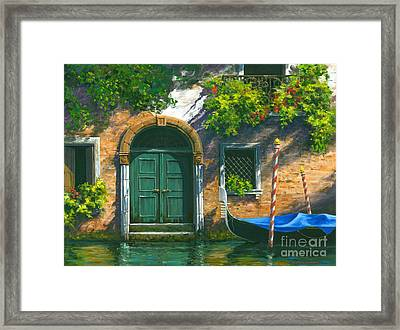 Home Is Where The Heart Is Framed Print by Michael Swanson
