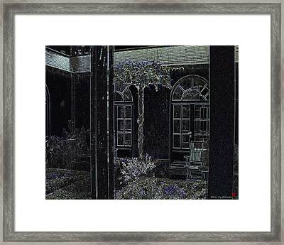 Home Is Where The Heart Is Framed Print by Rhonda McDougall