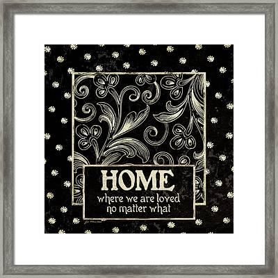 Home Framed Print by Jo Moulton
