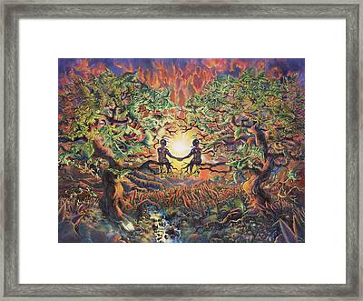 Home Framed Print by Kd Neeley