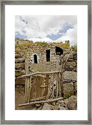 Home Made Home Framed Print by Kantilal Patel