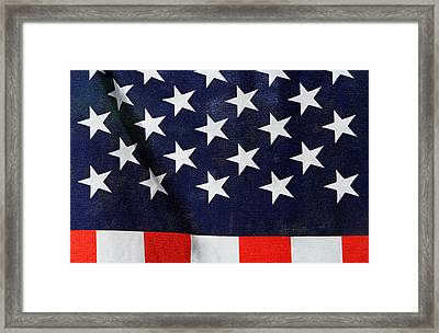 Home Of The Brave Framed Print by Juergen Roth
