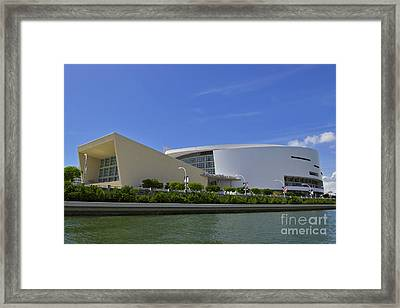Home Of The Heat Daytime Framed Print by Rick Bravo