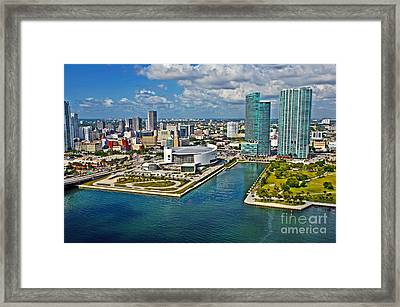 Home Of The Heat From Above Framed Print by Rick Bravo