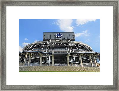 Home Of The Lions Framed Print
