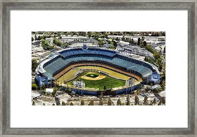 Home Of The Los Angeles Dodgers Framed Print