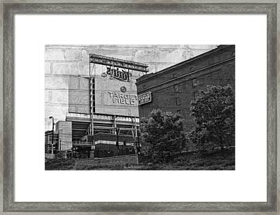 Home Of The Minnesota Twins Framed Print by Susan Stone