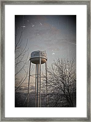 Home Of The Missco Tigers Framed Print by KayeCee Spain