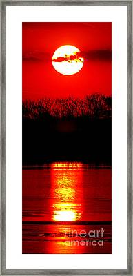 Home Framed Print by Olivier Le Queinec