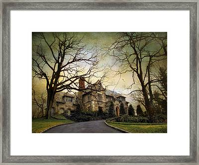 Home On A Hill Framed Print