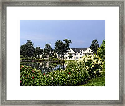 Home On The Golf Course Framed Print