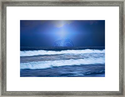 Home On The Horizon Framed Print by Kellice Swaggerty