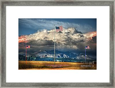 Home On The Range Framed Print by The Stone Age