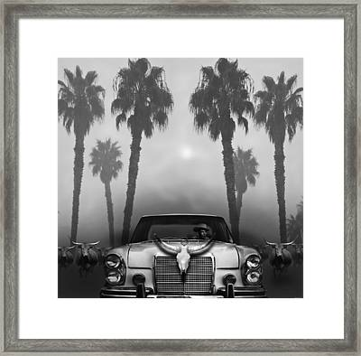Home On The Range  Framed Print by Larry Butterworth