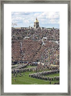 Home Opener 2012 Framed Print by Michael Cressy