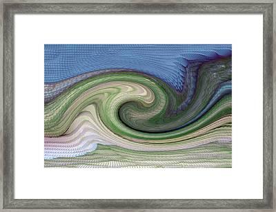 Home Planet - Gravity Well Framed Print