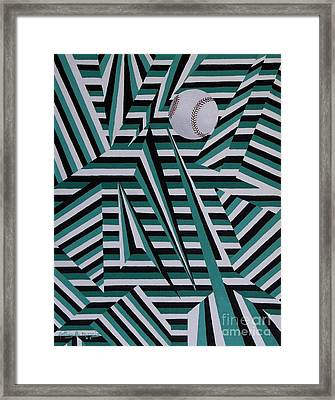 Home Run Framed Print by Anthony Morris