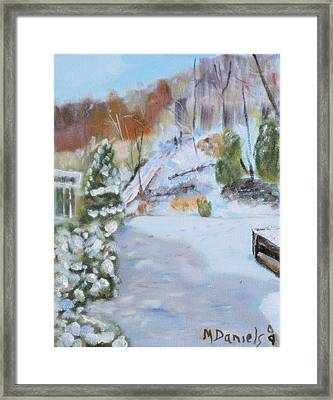 Home Scene South Framed Print