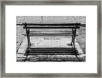 Home Framed Print by Sennie Pierson