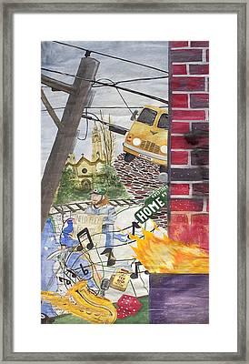 Home Street Home Framed Print by Craig Kennedy