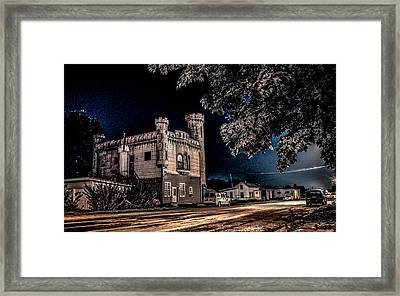Framed Print featuring the photograph Home Sweet Castle by Ray Congrove