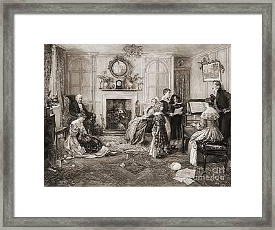 Home Sweet Home 1900 Framed Print