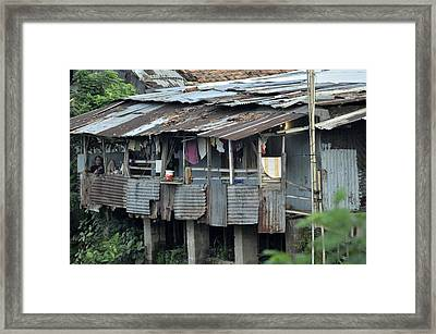 Home Sweet Home Framed Print by Achmad Bachtiar