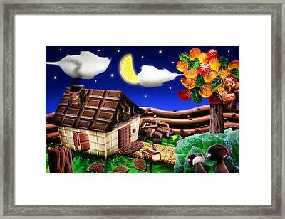 Home Sweet Home... Framed Print by Alessandro Della Pietra