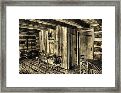 Home Sweet Home Framed Print by Dan Sproul
