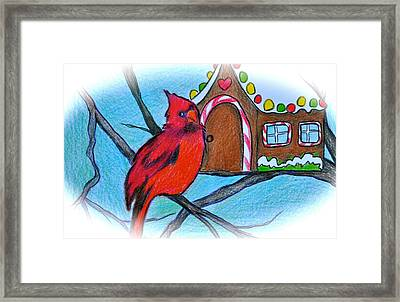Home Sweet Home Framed Print by Debi Starr