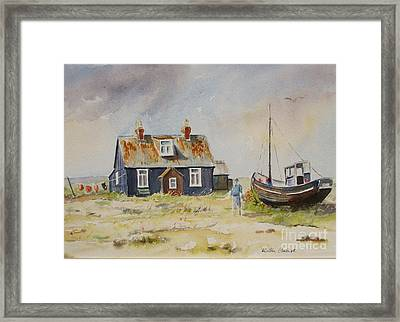 Home Sweet Home Dungeness Framed Print