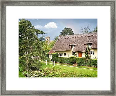 Home Sweet Home Framed Print by Gill Billington