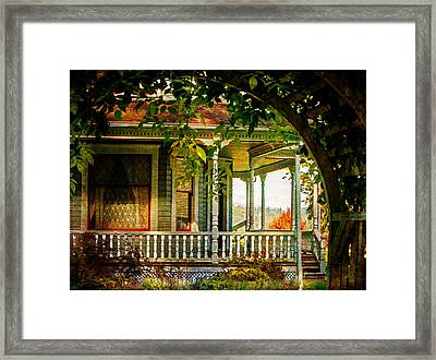 Home Sweet Home Framed Print by Jordan Blackstone