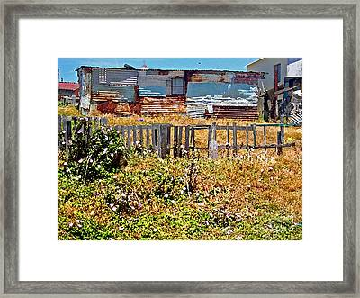 Home Sweet Home Framed Print by Karen Adams
