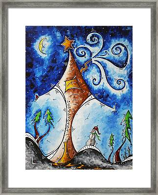 Home Sweet Home Framed Print by Megan Duncanson