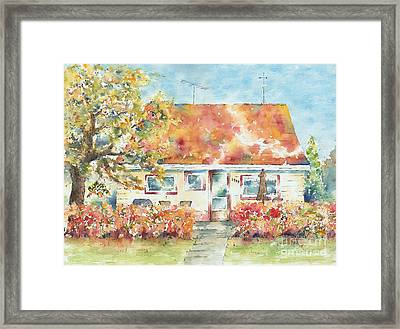 Home Sweet Home Framed Print by Pat Katz