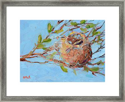 Home Sweet Home Framed Print by Suzy Pal Powell