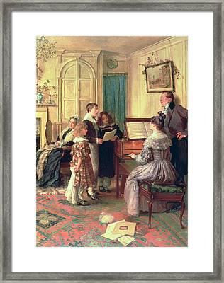 Home Sweet Home Framed Print by Walter Dendy Sadler