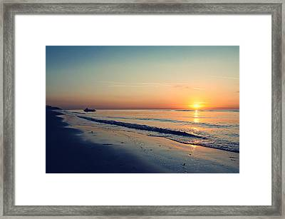 Home Time Framed Print