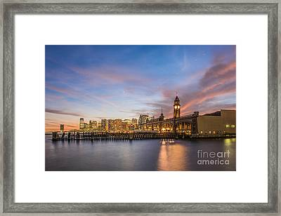 Home To Hoboken Framed Print