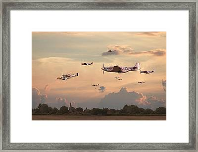 Home To Roost Framed Print by Pat Speirs