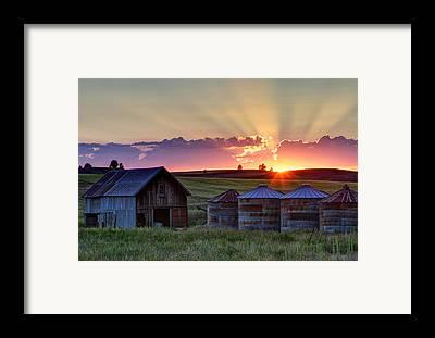 Farmstead Framed Prints