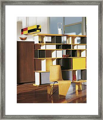 Home With Modern Decor Framed Print