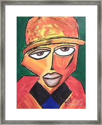 Homeboy Framed Print by Anthony Lewis