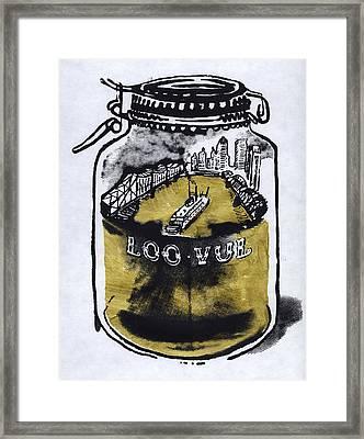 Homebrew Framed Print by Kyle Huninghake