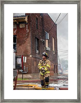 Homegrown Hero Framed Print by Kari Yearous