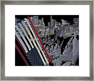 Homeland Security Framed Print by Beau Brady