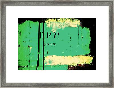 Homeless Shelter Framed Print by Chris Berry